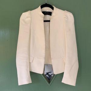 White Blazer Jacket || Zara